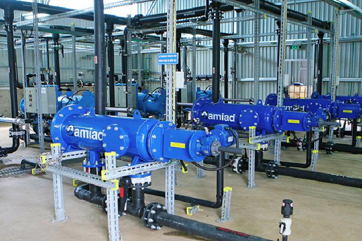 Xử lý nước cấp theo công nghệ cao